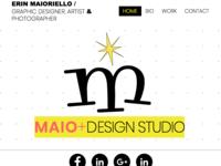 MDS Home Page Website Design