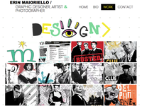 MDS Design Portfolio Page Website Design