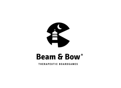 Beam and Bow | Daily Logo Challenge Day 31 | Lighthouse Logo