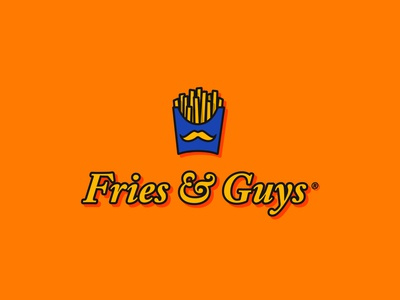 Fries & Guys | Daily Logo Challenge Day 32