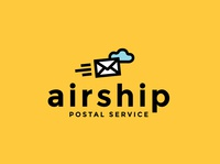 airship | Daily Logo Challenge day 42 | Postal Service Logo