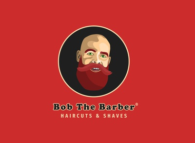 Bob The Barber | Daily Logo Challenge | day 13