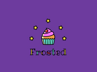 Frosted [ Cupcake Bakery | The Daily Logo Challenge | Day 18