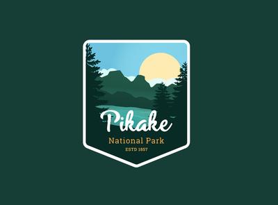 Pikake National Park   Daily Logo Challenge Day 20