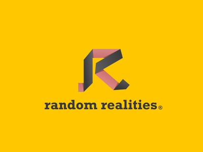 Random Realities | Origami R letter | Daily Logo Challenge Day 4