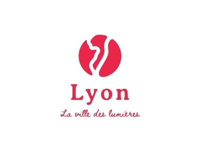 Lyon | city logo | Daily Logo Challenge Day 22