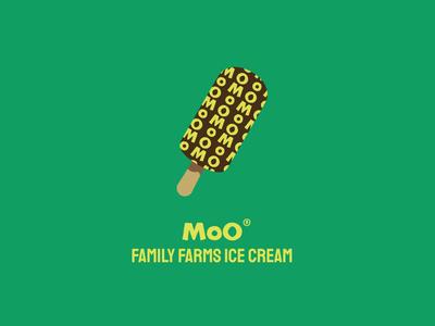 MoO Ice Cream | Daily Logo Challenge | Day 27