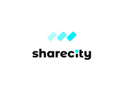 sharecity | rideshare car service | daily logo challenge day 29