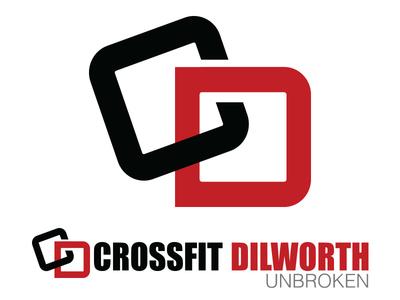"Crossfit Dilworth Logo - ""Unbroken"""