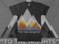 """To The Heights"" Shirt for Life Teen Summer Camp"