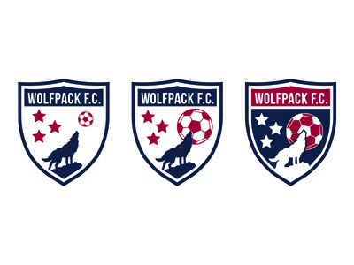 Wolfpack FC Crest Concepts