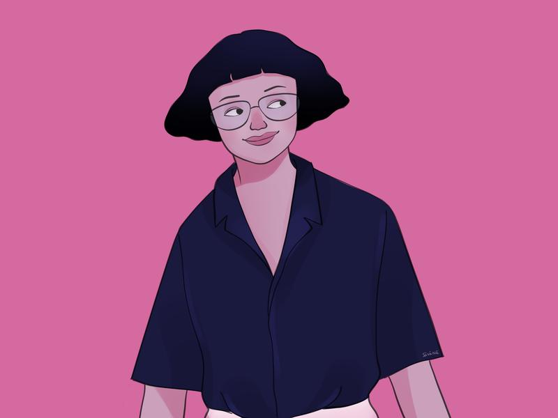 Myself savana character rynguyen dribble art illustrator art digital illustrator artist photoshop painting drawing artwork illustration