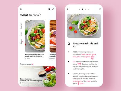 Food App Challenge cooking app cooking vegetable recipe app recipe dish food and drink food app app food