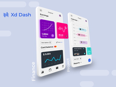 Xd Dash Mobile xd ui kit ui kit dashboard design dashboard app dashboard ui dashboad