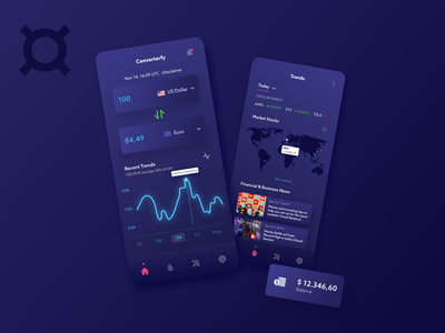 Currency Converter App money management finance app converter currency business app design finance money