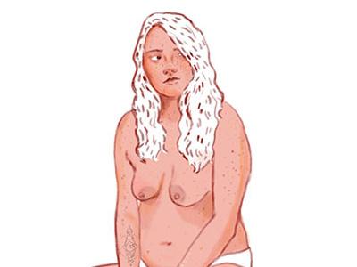 Girl girls bodypositive art