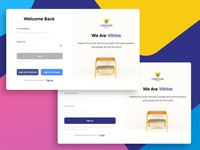 Login / Signup | Furniture Web App