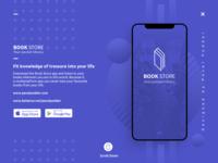 UI UX Book Store App Cover