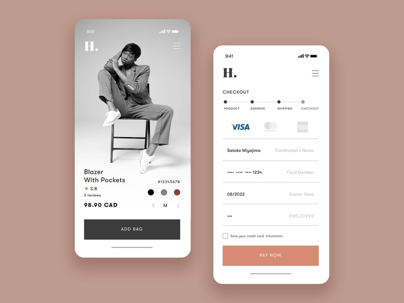 Credit Card Checkout  UI ux ui design mobile app design graphic branding 100 daily ui clean design clean design shopping typography mobile credit card form ui 100 day ui challenge