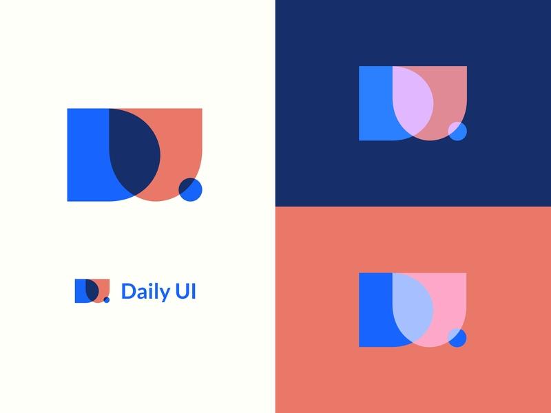Daily UI Logo clean design graphic 100 day ui challenge 100 daily ui logo design design