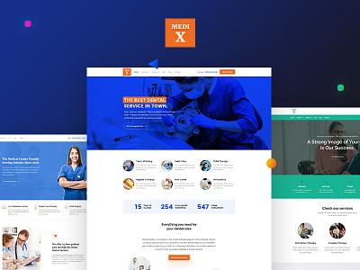 MediX - Medical WebSite Theme wordpress design wordpress theme template psychologist medical dental clinic dental