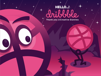 Hello Dribbble, I'm Newbie :)