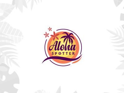 Aloha Spotter Logo Design