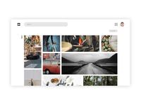 Photo Share Website Design