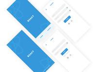 App Initial Screens
