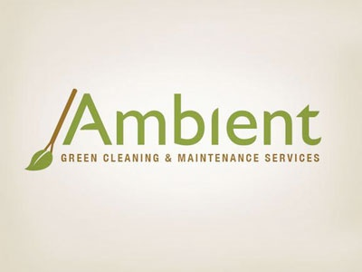 Ambient Cleaning Services Logo brand design brand logo design