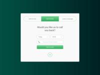 Exit Popup for sales calls apps