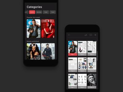 Reading App Design Project - 1