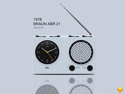 Braun ABR 21 Vector Illustration braun sketchapp sketch illustration vector