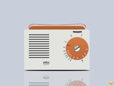 Braun Exporter 2 Vector Illustration sketchapp sketch illustraion vector braun