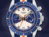 Tudor Heritage Chrono Blue Watch Illustration