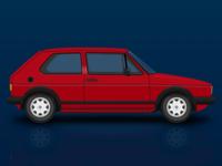 Volkswagen Golf Mk I GTI