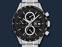 Tag Heuer Carrera Chronograph Watch Icon
