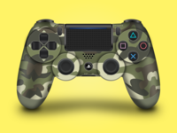Dualshock PS4 Controller - Camouflage Edition