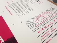 Wedding Invites Printed