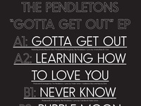 Pendletons — Gotta Get Out EP (Back)
