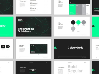 TOAT Studio – Brand Guides