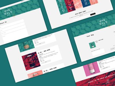One Wild Wines –  Web Development