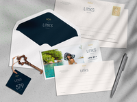 The Links, at Penina, Portugal – Logo Design & Branding