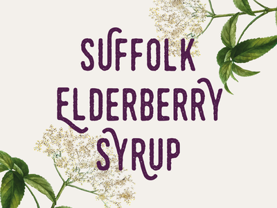 Logo design + branding for Suffolk Elderberry Syrup
