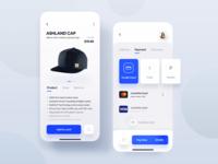 E-commerce shopping 🛒app fresh uidesign trend shopping app clean model mobile wear shop ecommerce app ecommerce ui aplication app design app