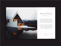 minimal home