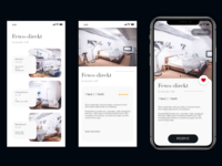 Apartment booking - mobile