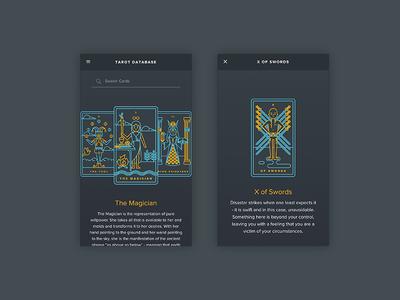 Golden Thread Tarot Companion App