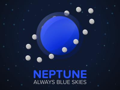 Neptune: Always Blue Skies