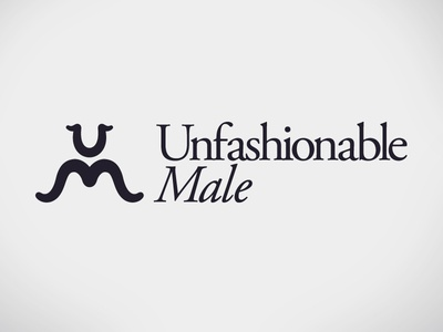 Quick logo - Unfashionable Male